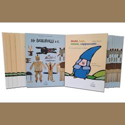 "3 libri ""Mr Baskerville & c.""  + 3 libri ""Orchi, lupi, nonne…"""